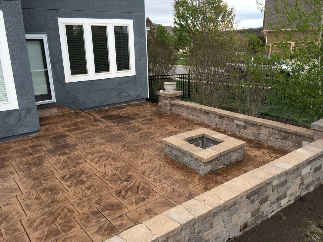Retaining Wall Seating Seating Retaining Walls Fire Pits