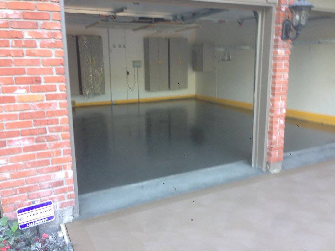 paint skills garage tos epoxy diy floors floor a with know painting to and how step